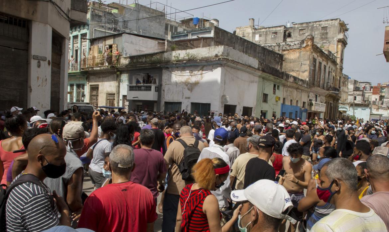 Le proteste all'Avana