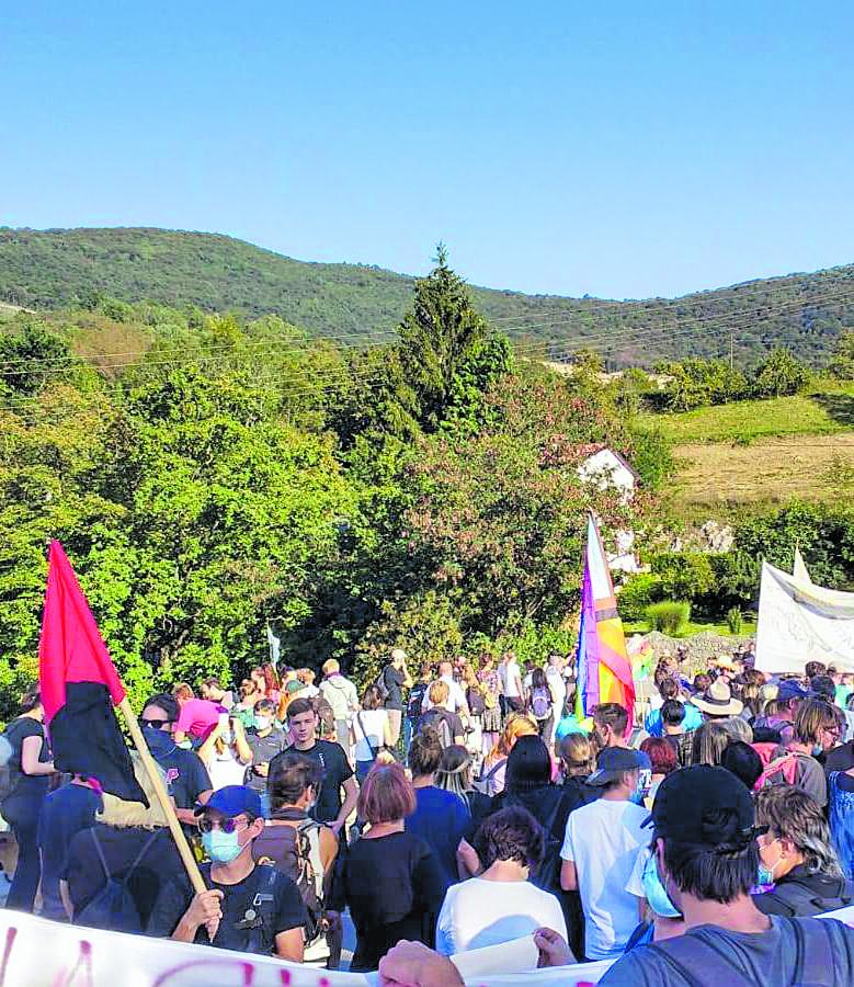 Isonzo, manifestazione transfrontaliera