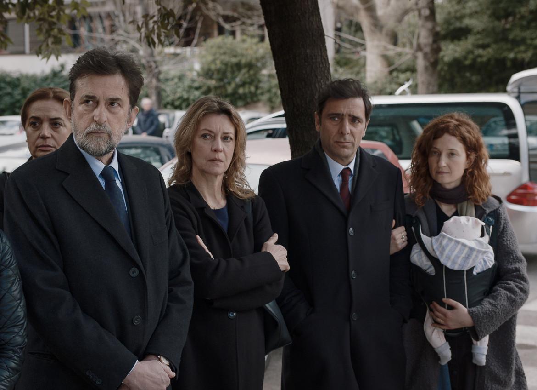 Nanni Moretti, Margherita Buy, Adriano Giannini, Alba Rohrwacher in «Tre piani»