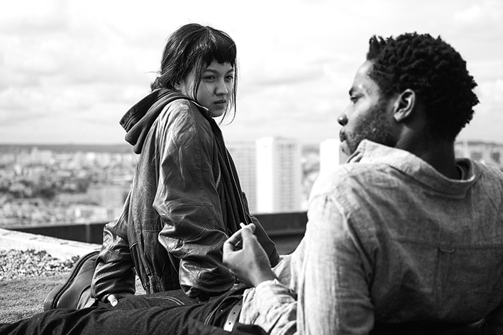 Makita Samba e Lucie Chang in «Les Olympiades» di J. Audiard