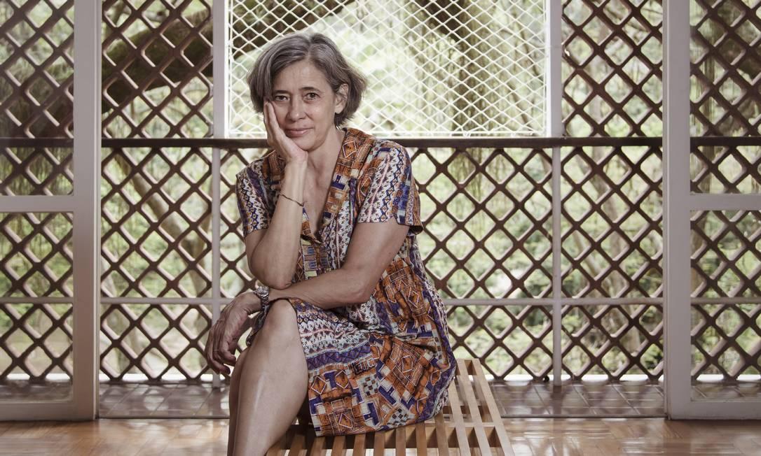 La scrittrice e editrice brasiliana Beatriz Bracher