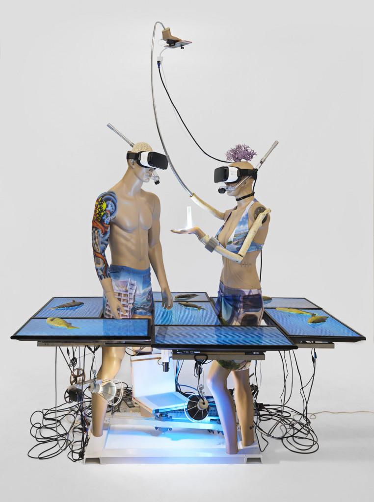 «Evolution» dell'artista statunitense Jon Kessler
