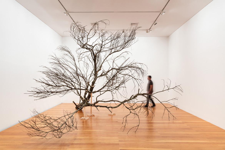 Un'installazione dell'artista portoghese Gabriela Albergaria