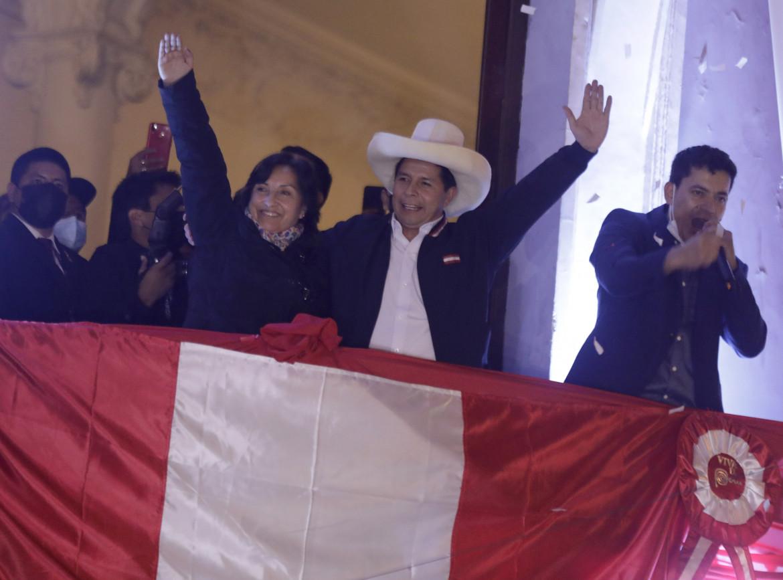 Il nuovo presidente del Perù Pedro Castillo
