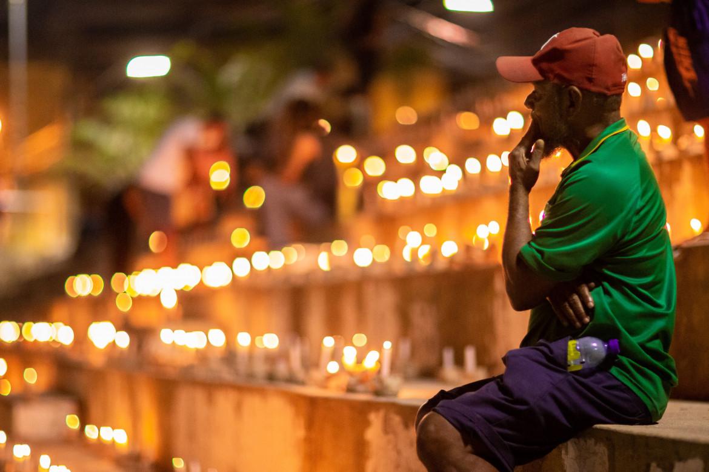 Maceio, 21 giugno, 500 mila candele per ricordare le altrettante vittime brasiliane del Covid