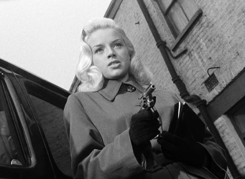 Diana Dors  in «Gli uomini condannano» di J. Lee Thompson ('56)