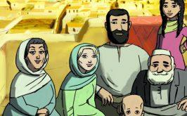 Michaela Pavlatova e la famiglia afgana