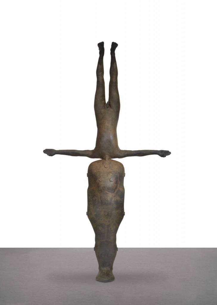 Una installazione di Antony Gormley