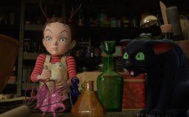 Earwig e la strega i sogni pastellati di una bambina e del suo gatto