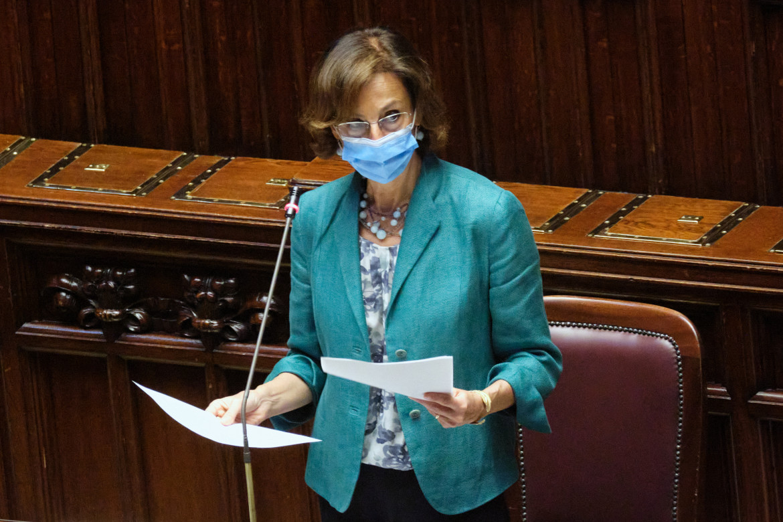 La ministra di Giustizia Marta Cartabia riferisce in Parlamento sui fatti di Santa Maria Capua Vetere