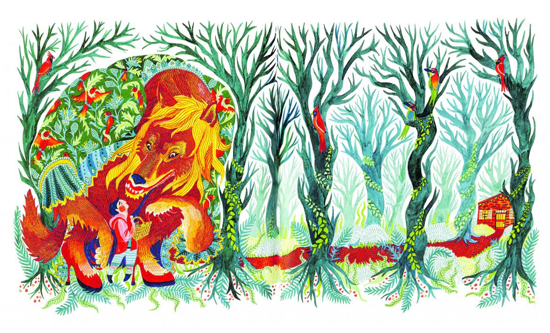 Illustrazione di Karrie Fransman per «Fiabe d'altro genere»