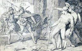 Alcibiade sedotto dalla rovina