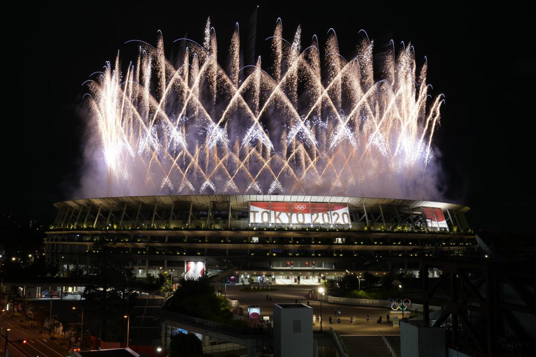 La cerimonia d'apertura dei Giochi olimpici