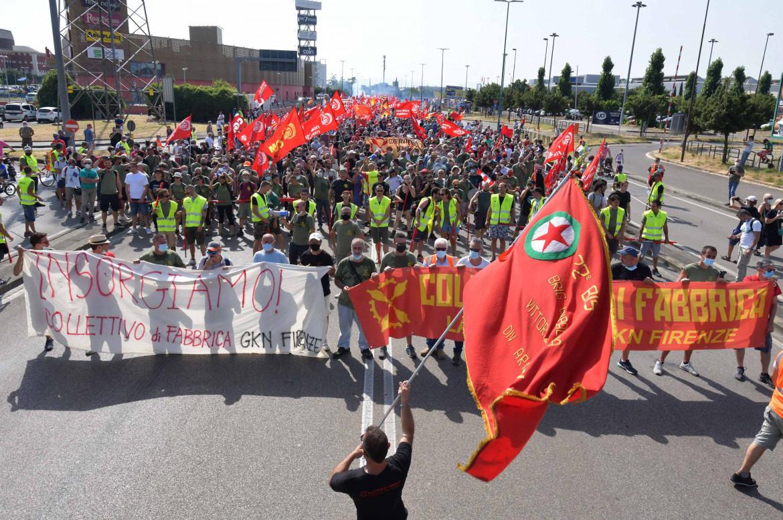 La manifestazione del 24 luglio a Campi Bisenzio