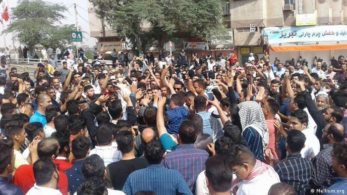 Le proteste iraniane per l'acqua