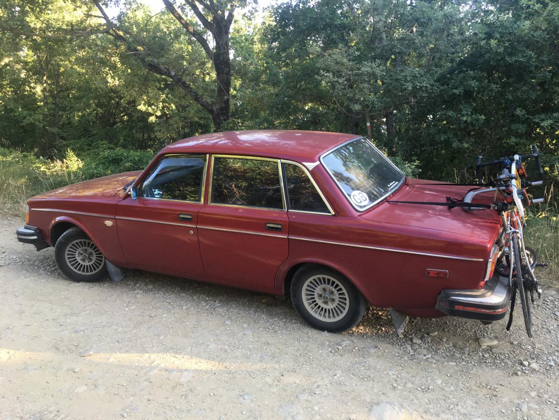 In viaggio con la Volvo anni Settanta
