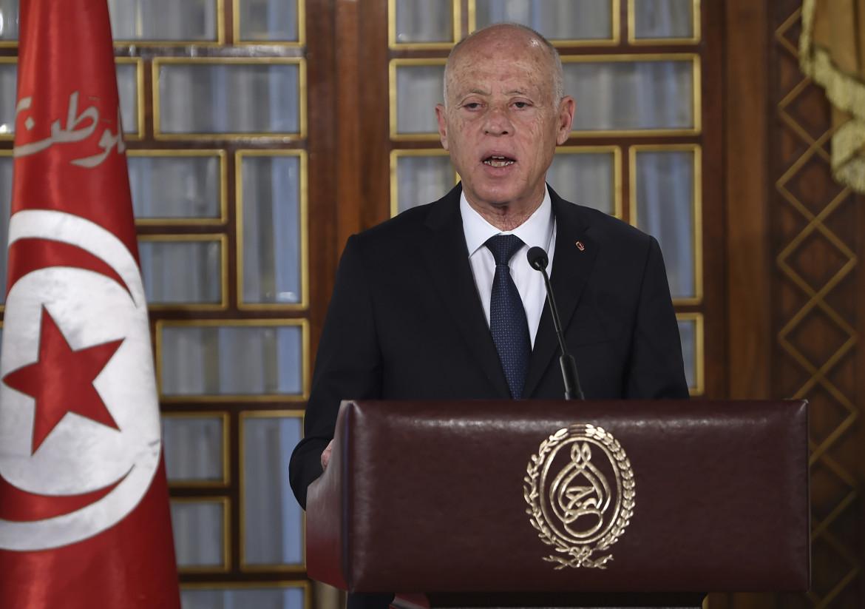 Il presidente tunisino Kais Saied