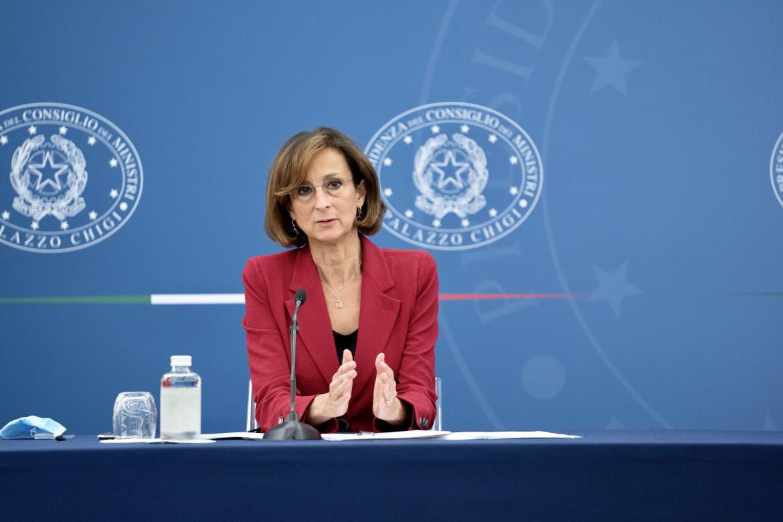 La ministra di Giustizia, Marta Cartabia