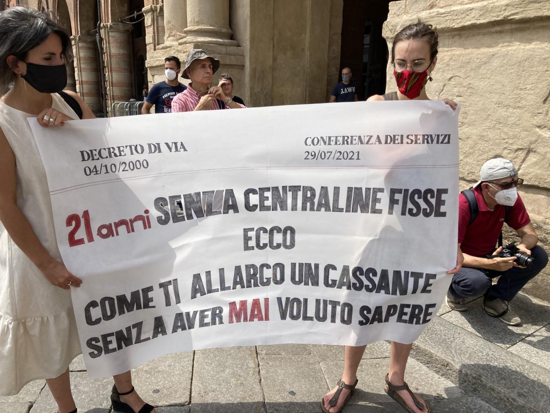 Protesta ambientalista a Bologna