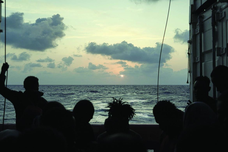 Migranti soccorsi dalla Ocean Viking a febbraio 2021