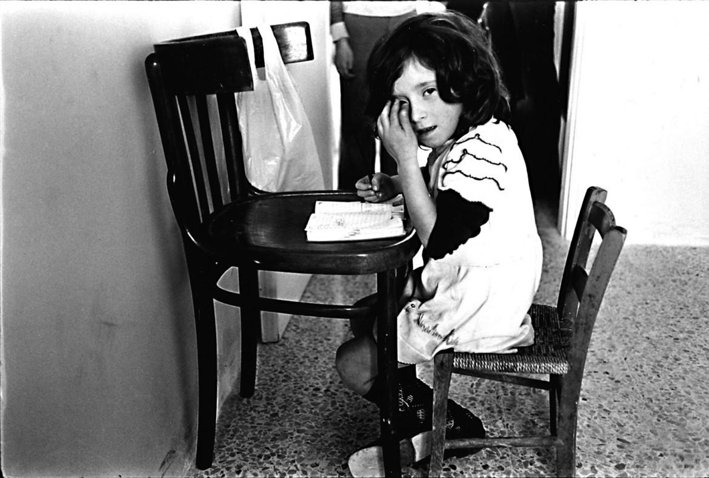 Tano D'Amico, case occupate della Magliana, 1973