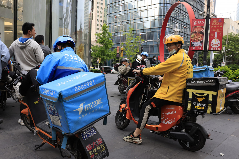 Rider in Cina