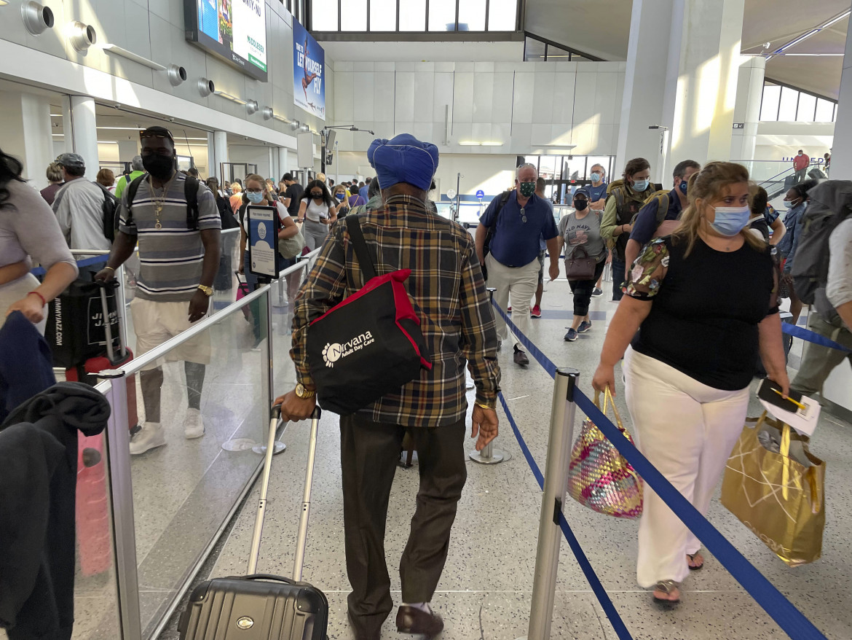 In un aeroporto statunitense