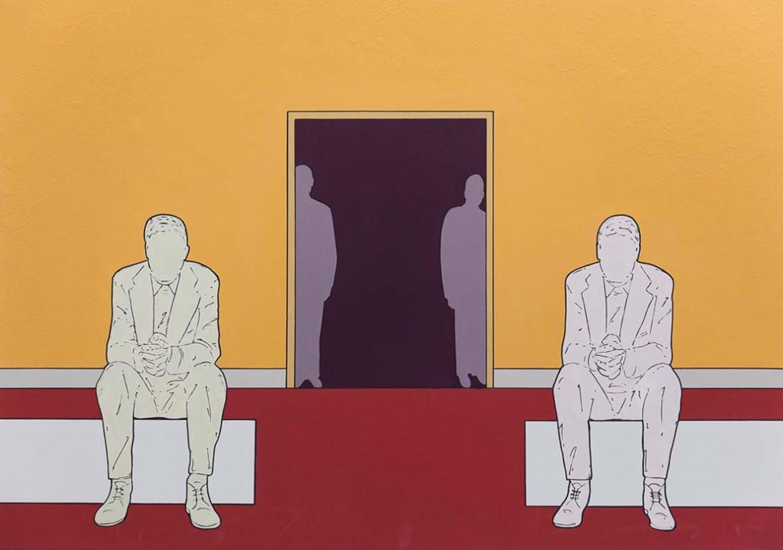 Un'opera di Renato Mambor