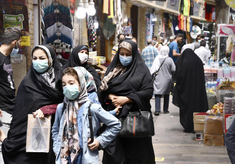 Un mercato di Teheran