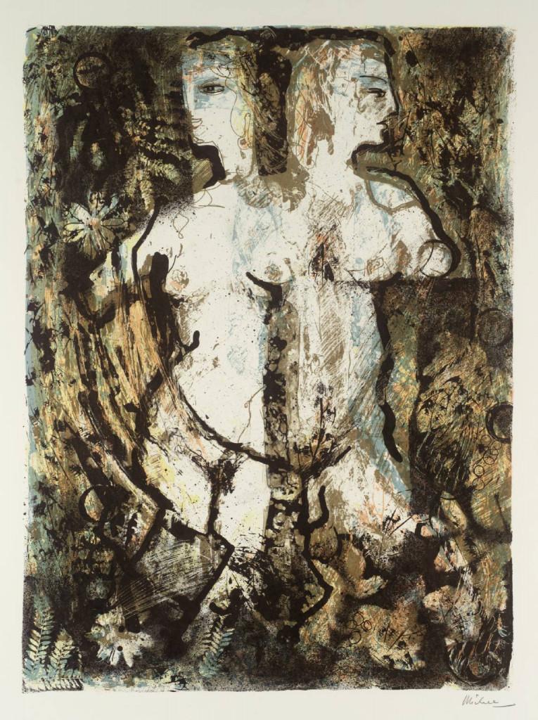 Keith Michell, da: Illustrations of Twelve Shakespeare Sonnets, 1975, Londra , Tate