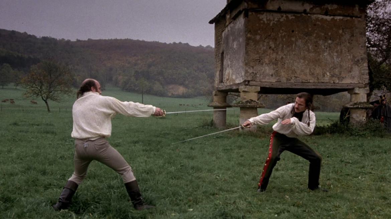 Scena dal film  I duellanti di Ridley Scott, 1977