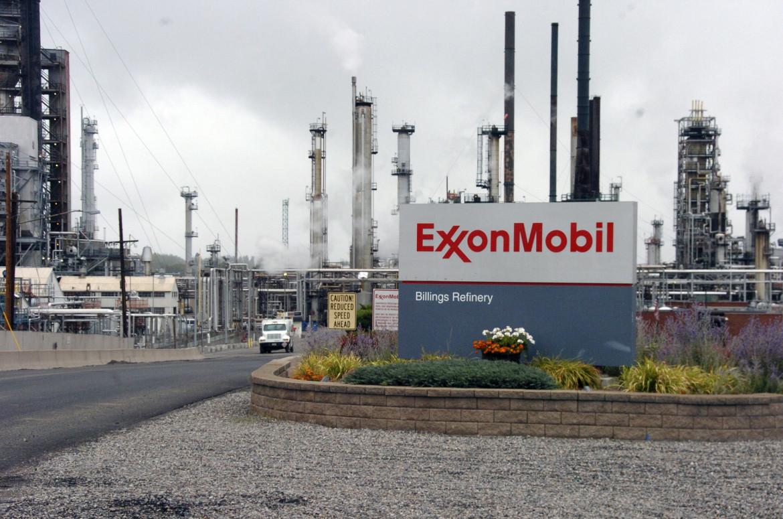 La raffineria Exxon a Billings, in Minnesota