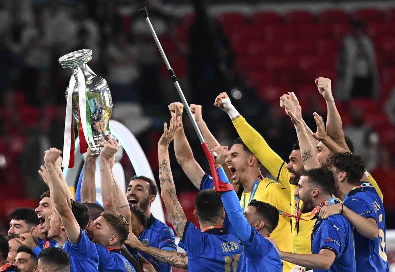 L'Italia vince gli Europei di calcio
