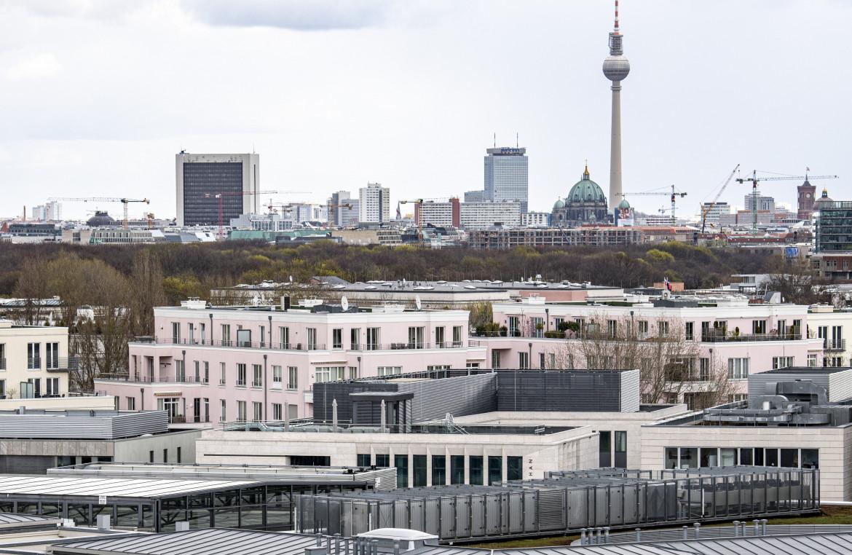 Appartamenti a Berlino sotto la torre della televisione