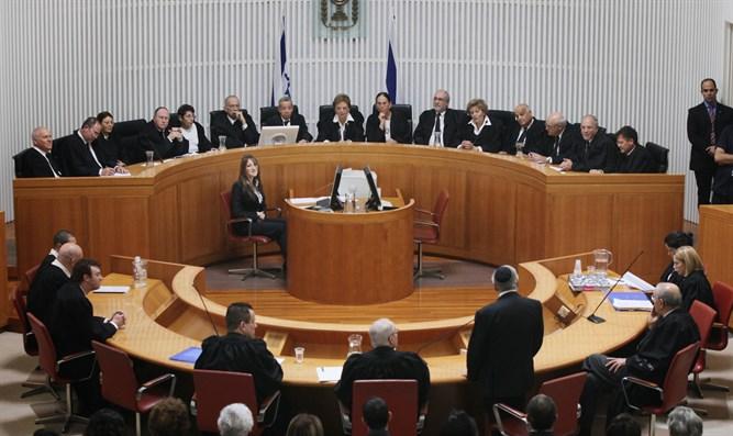 L'Alta corte di giustizia israeliana
