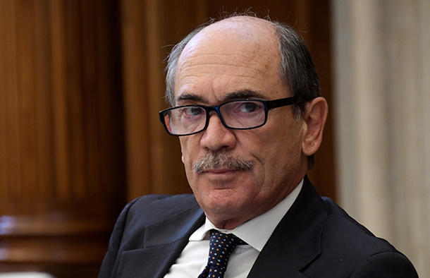 Il procuratore antimafia e antiterrorismo, Federico Cafiero De Raho