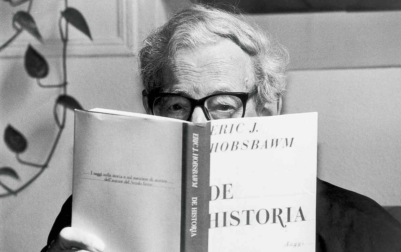 Lo storico britannico Eric J. Hobsbawm
