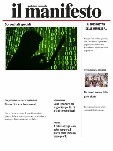 Edizione del 20072021