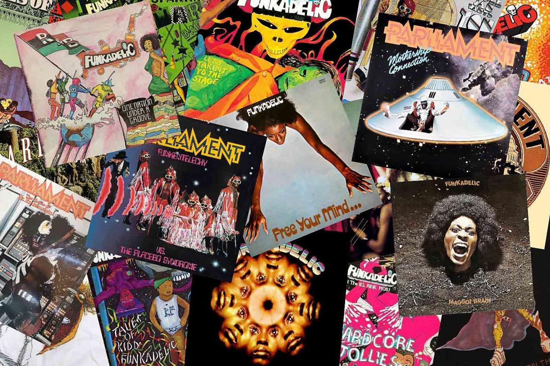 I dischi del mondo P-Funk (Parliament/Funkadelic) di George Clinton