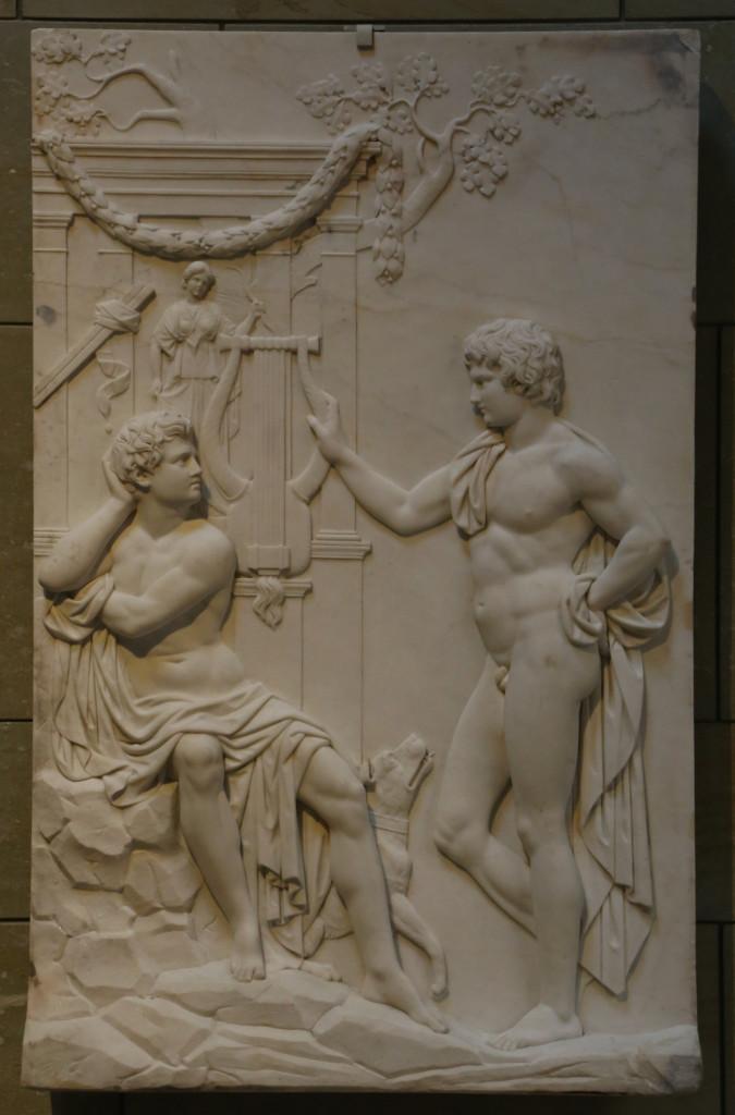 Julius Troschel,  Zethus und Amphion,  1840-'50 ca., Monaco, Neue Pinakothek