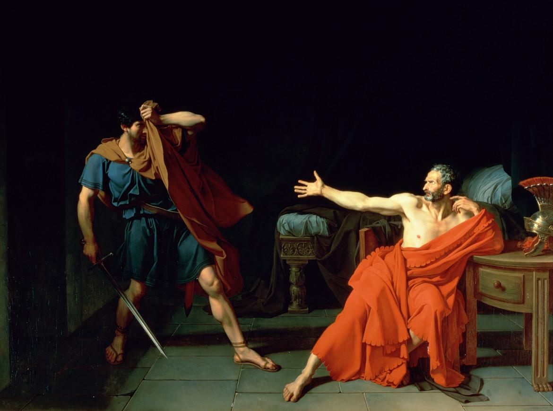 Jean Germain Drouais,  Mario a Minturno, 1786,  Parigi, Musée du Louvre