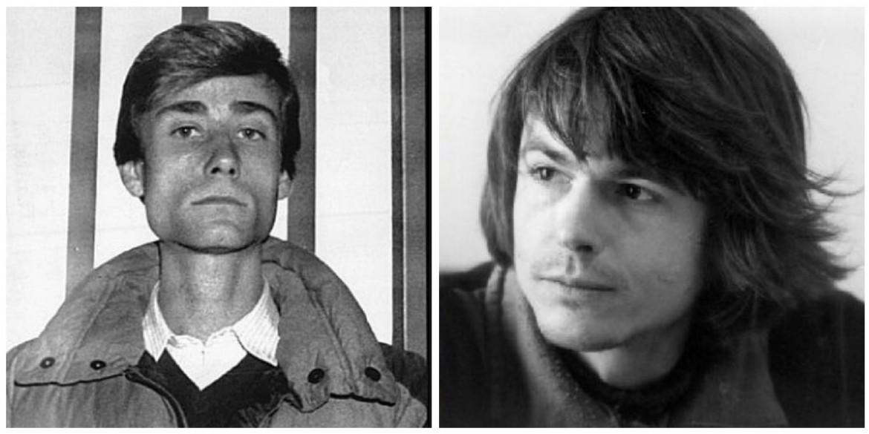 Due immagini relative al periodo del loro arresto di Marco Furlan e Wolfgang Abel