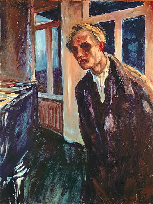 Edvard Munch, «Vagabondo di notte», 1929