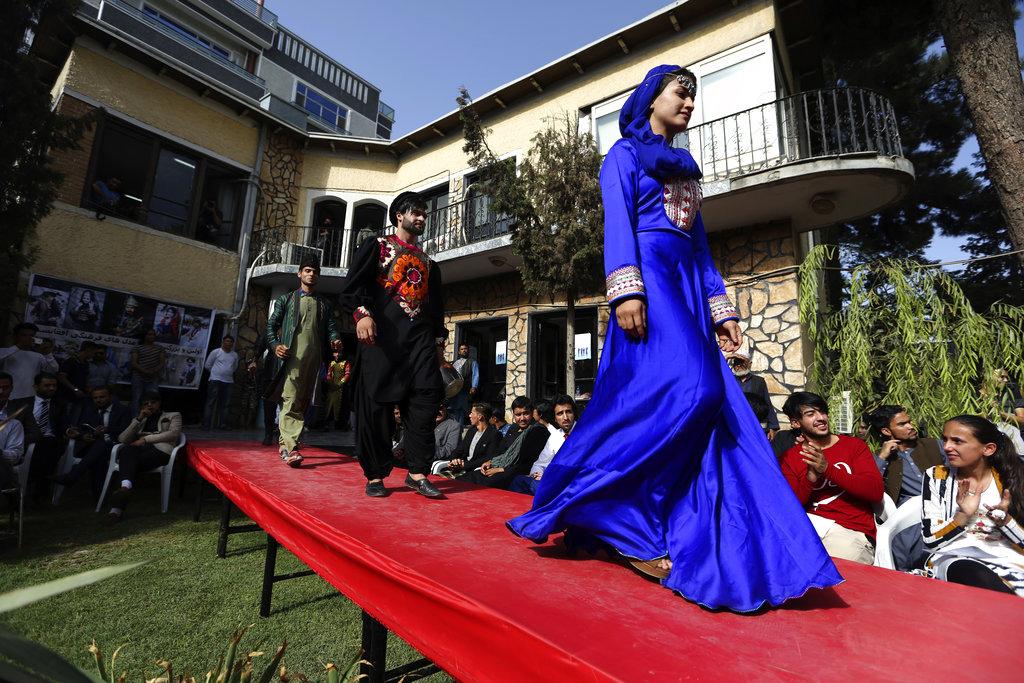 Una sfilata a Kabul nel 2017