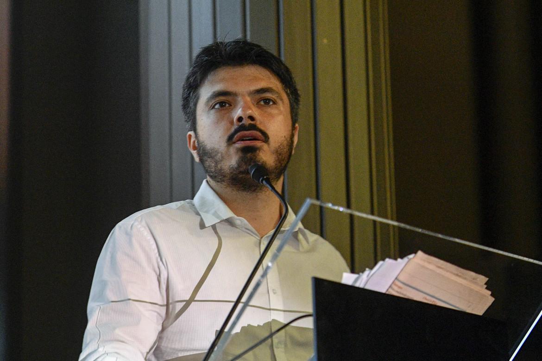 Andrea Casu, candidato del Pd nel collegio di Roma Primavalle