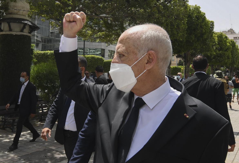 Il presidente tunisino Saied