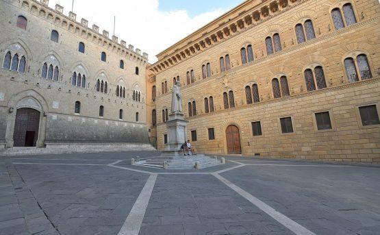 Il Monte dei Paschi a Siena