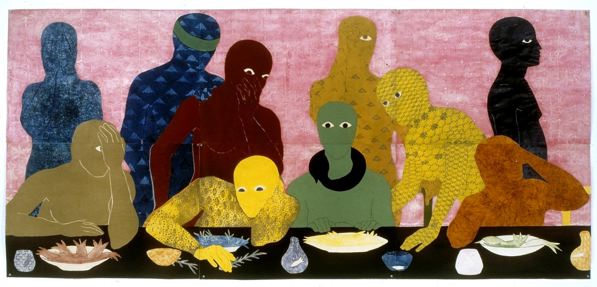 Belkis Ayon, «The supper», 1988