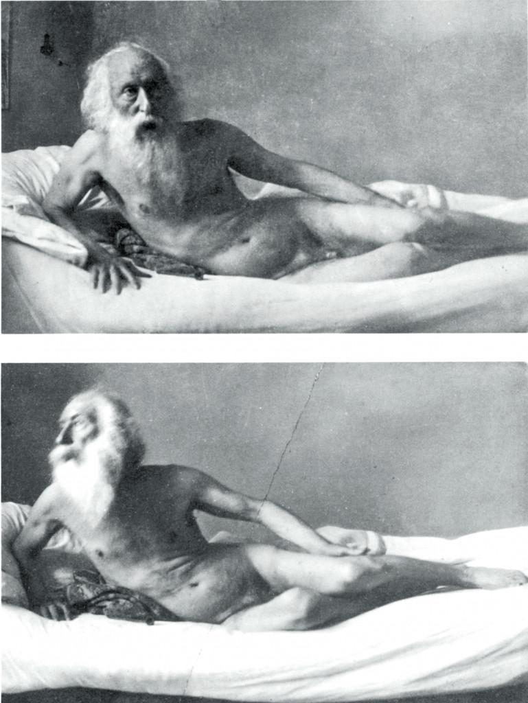Le ultime foto di Vincenzo Gemito scattate nel 1928, pochi mesi prima della morte, da Ferdinando Lembo