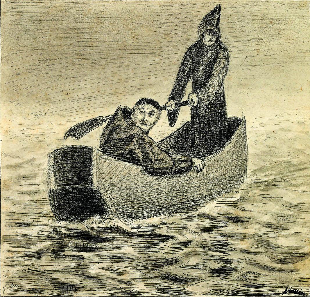 Alfred Kubin, «Hinüber», 1899, collezione privata